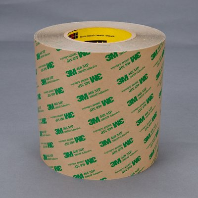 3m 468mp Double Sided Adhesive Roll 200mp Heavy Duty
