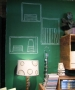 Green Chalkboard Paint