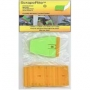 ScrapeRite - Package of 25 Double Edged Blades, 1 Holder, bagged