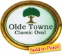 """Olde Towne"" - Classic Oval"