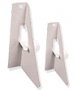 Single Wing White Self Stick Easels